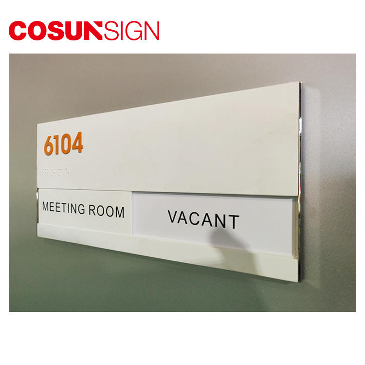 COSUN etched antique door signs Supply for shop-2