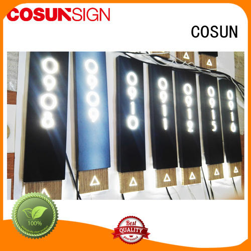 COSUN New removable door signs Supply for toilet signage