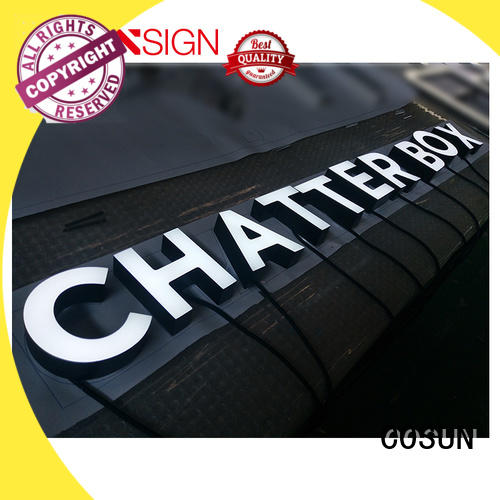 COSUN New acrylic signs uk at discount for pub club