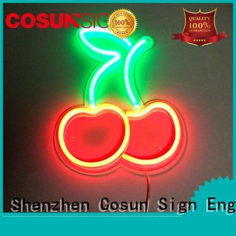 COSUN eye-catching where can i get a neon sign made company for promotion