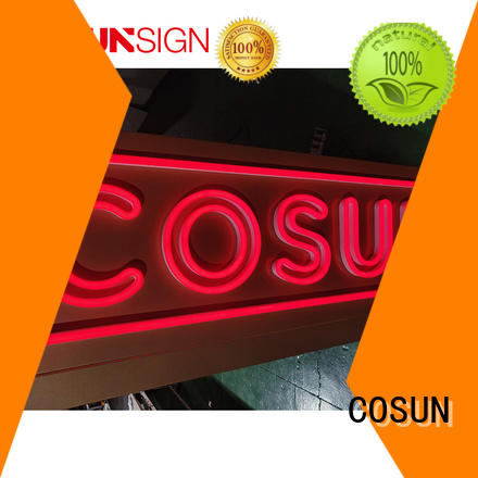 COSUN popular affordable neon signs for business for promotion