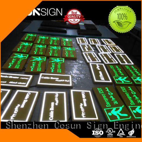COSUN quality office door signs sign shop