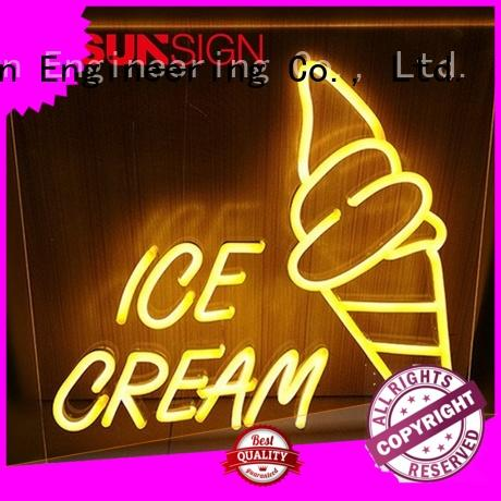 COSUN Wholesale best neon sign company Suppliers for decoration