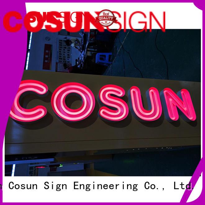 Custom sign solutions popular Supply for warning