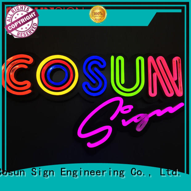 COSUN Top led home sign for business for decoration