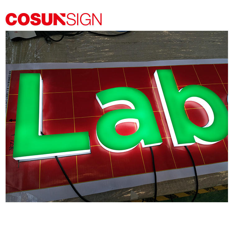Wholesale acrylic front door signs clear letter for restaurant-1