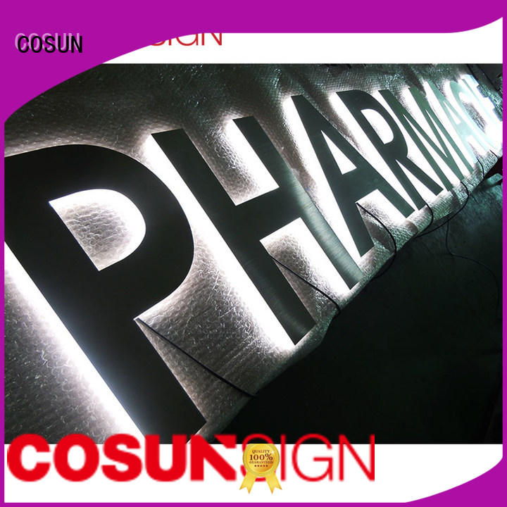 Custom sign shops competitive price at discount for restaurant