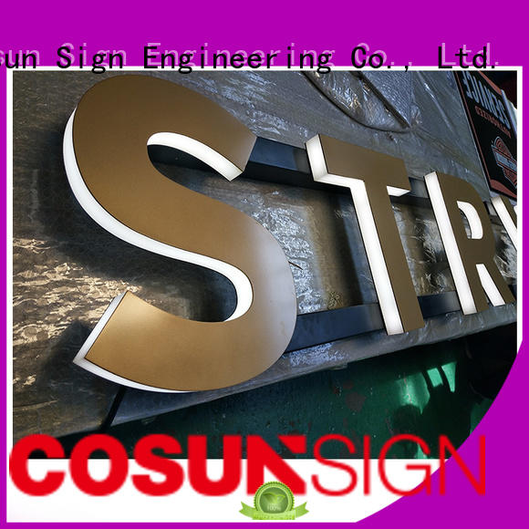 COSUN clear letter 8 x 11 acrylic sign holder for pub club