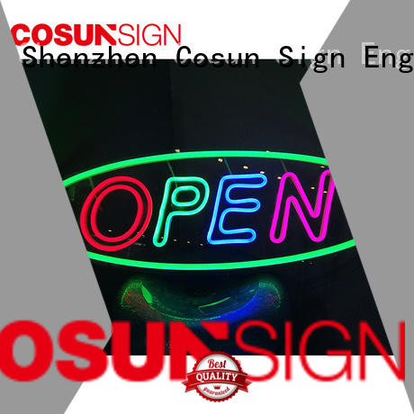COSUN Wholesale personalised neon lights for business for warning