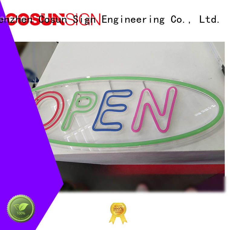 COSUN High-quality cool neon signs for room factory for promoting