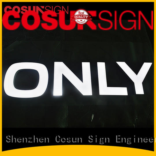COSUN clear letter officemax acrylic sign holder Suppliers for pub club