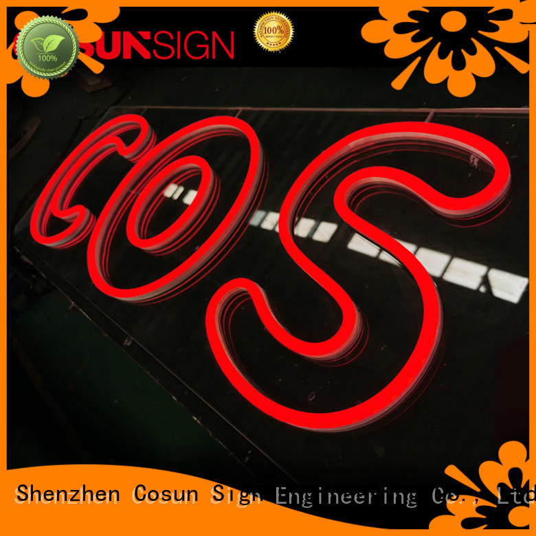 COSUN on-sale dimensional sign Supply for promotion