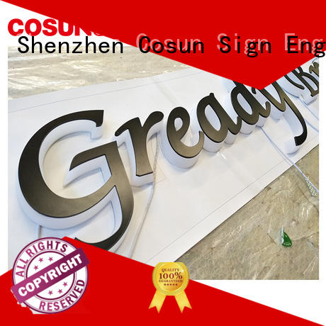 COSUN competitive price for sale sign holder for business for restaurant