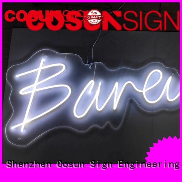 COSUN Wholesale magnetic signs Supply for promoting