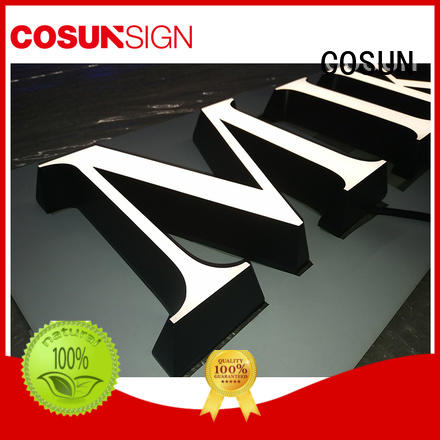COSUN clear letter acrylic signs online for pub club
