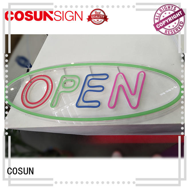 COSUN on-sale light up bar sign company for promoting