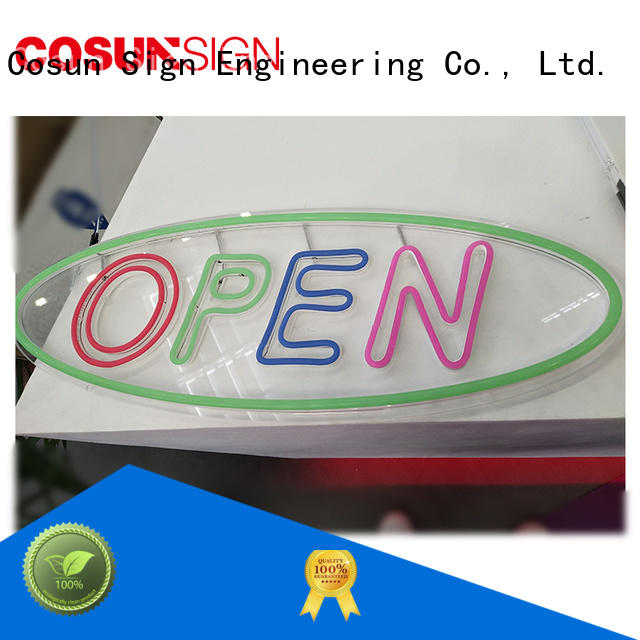COSUN eye-catching neon wall signs Suppliers