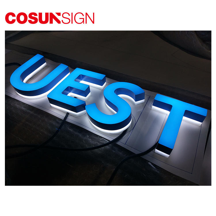 High-quality commercial signs clear letter for shop-2
