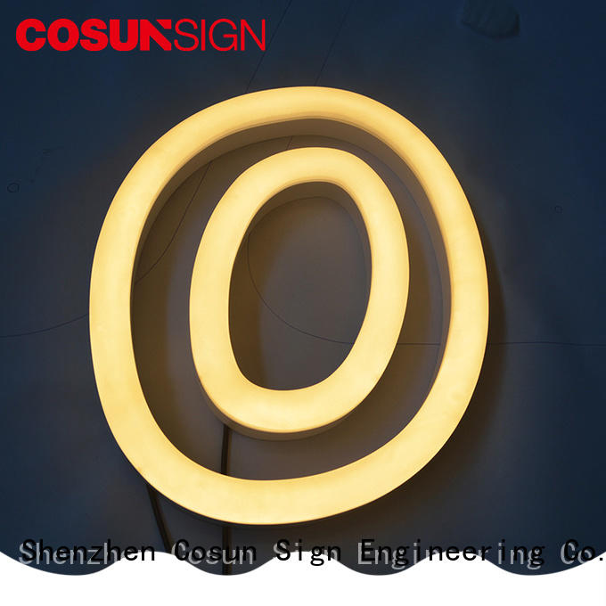 best factory price neon letter sign bulk production for decoration