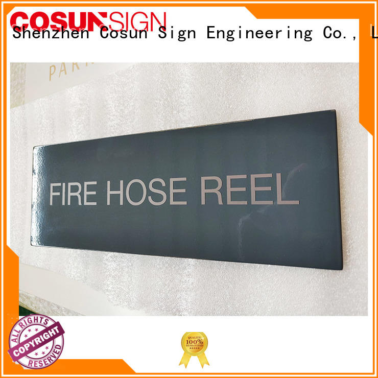 COSUN acrylic welcome door signs safety sign house decoration