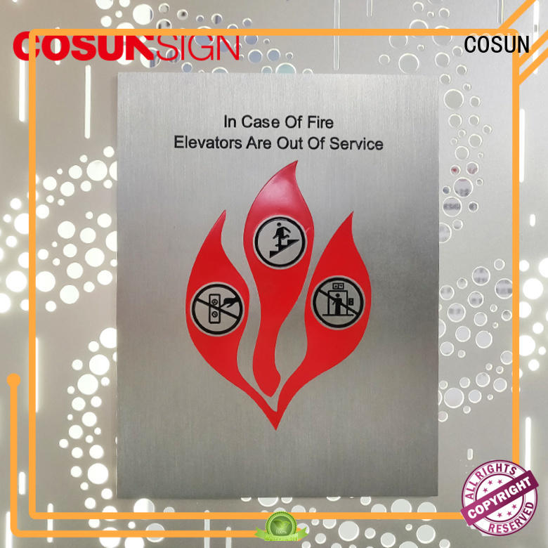 COSUN Best small sign company Supply for wholesale