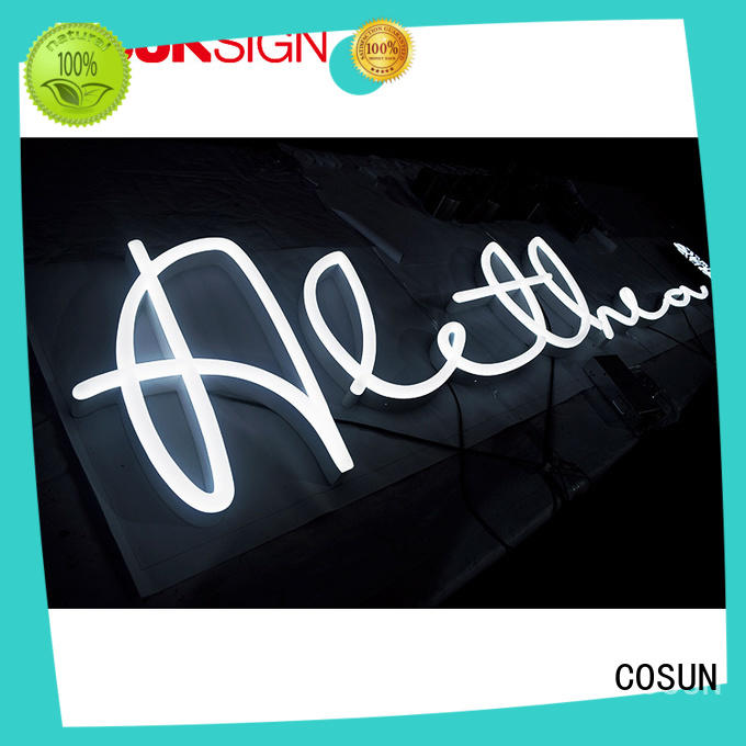 COSUN best factory price neon sign for bar by bulk check now