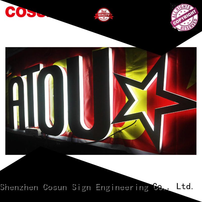 COSUN Top sign protectors for shop