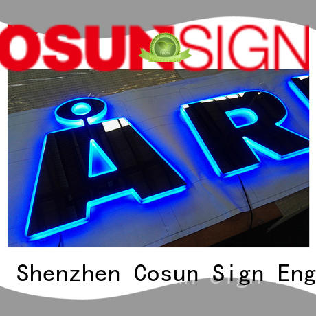 COSUN Latest waterproof sign holder for business inquire now