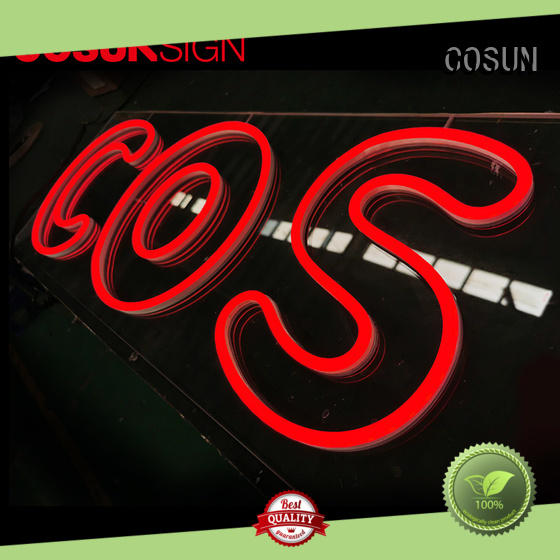 COSUN popular aluminum signs Suppliers check now