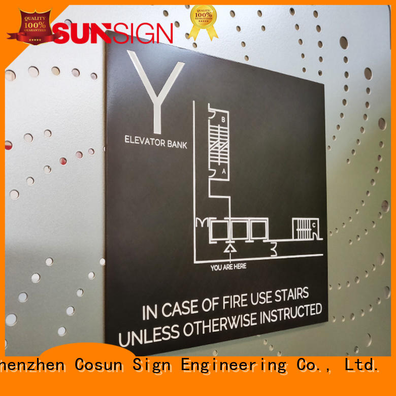 COSUN New commercial door signs company for bar