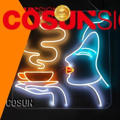 COSUN High-quality personalized neon light signs company for decoration