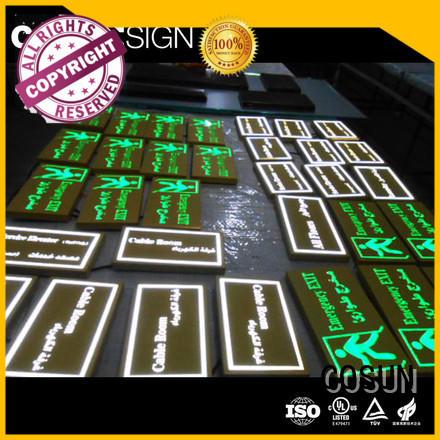 High-quality home sign logo custom company house decoration