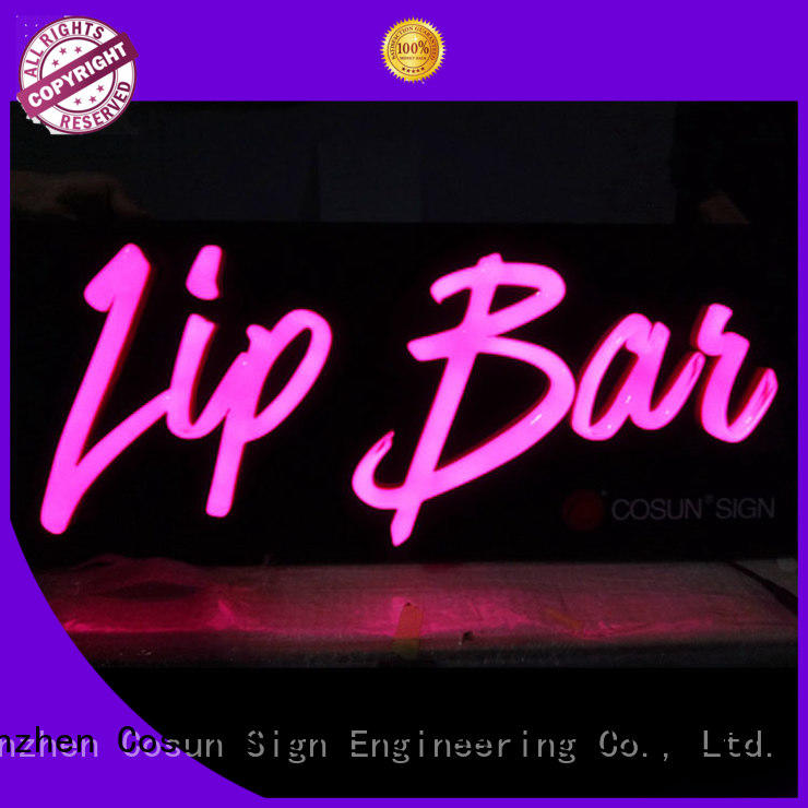 COSUN Best that neon sign company for promoting