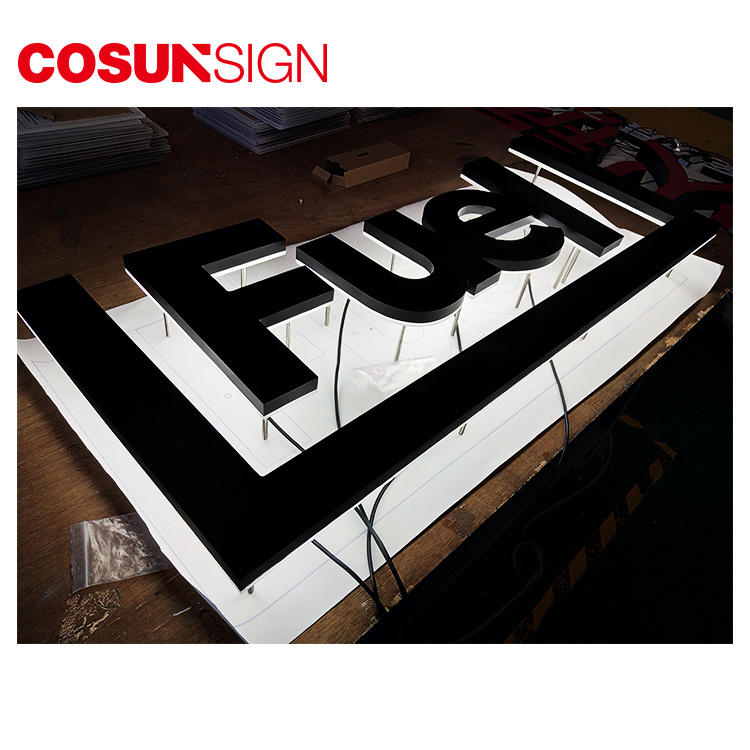 COSUN clear letter plastic sign stand on-sale inquire now-1