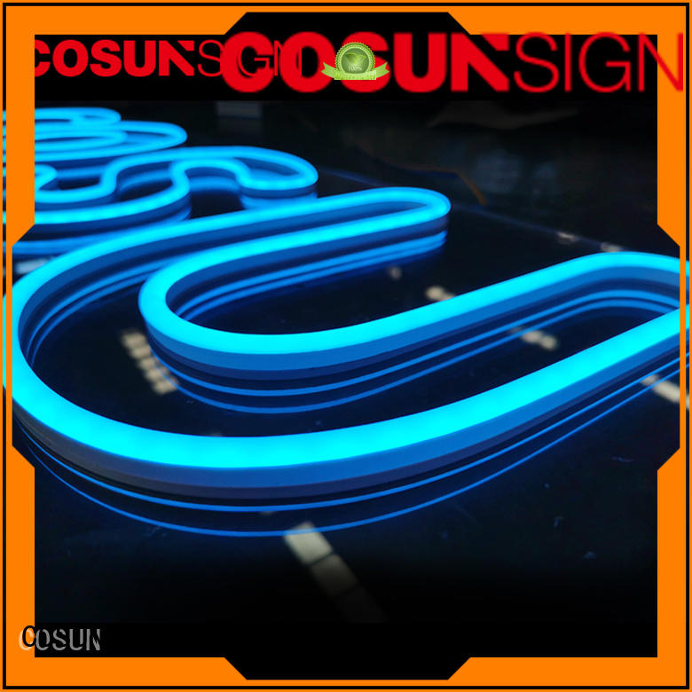 COSUN eye-catching custom neon signs cheap Supply check now