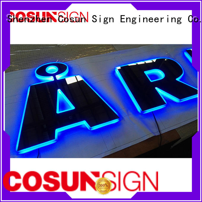 COSUN competitive price t style acrylic sign holder for pub club