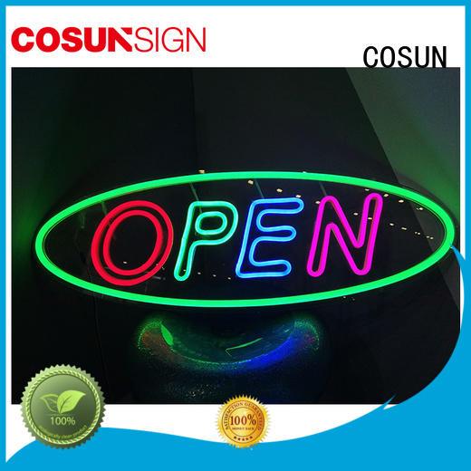 COSUN Custom neon sign tattoo Suppliers for promoting