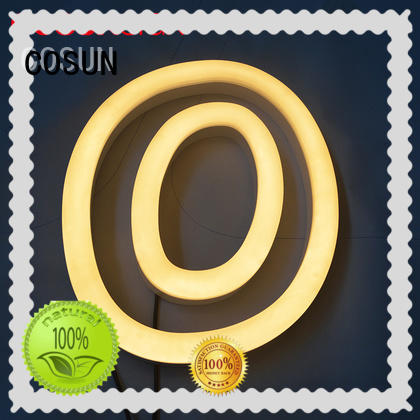 COSUN High-quality neon drink sign factory for decoration