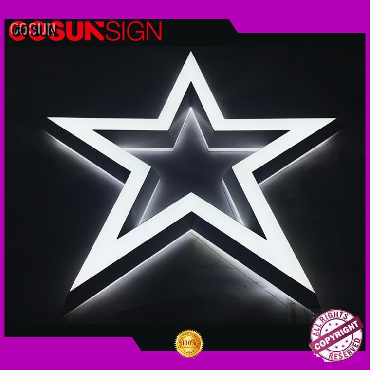 COSUN led base acrylic holder for shop