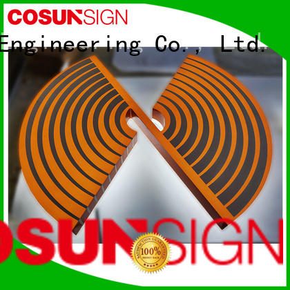 COSUN plastic plastic display sign holders for shop