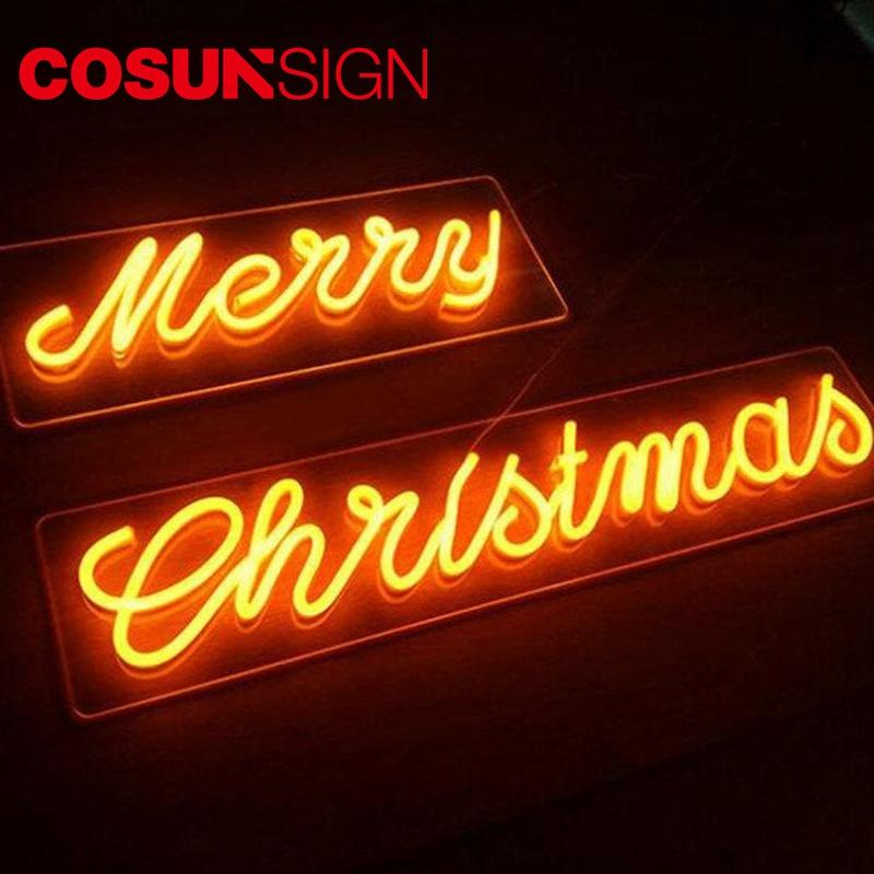 COSUN on-sale personalized neon light signs Supply for warning-1