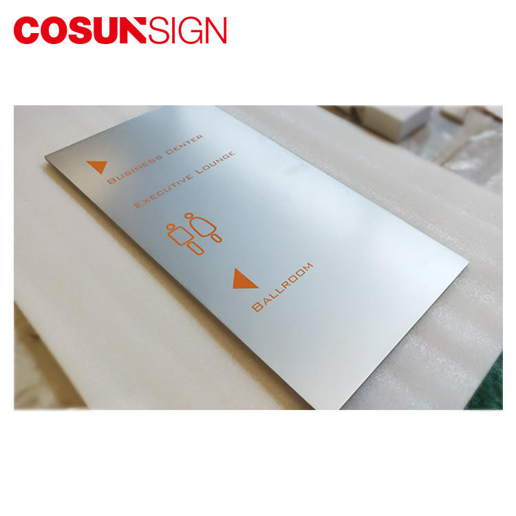 COSUN New make your own door plaque factory for shop-1