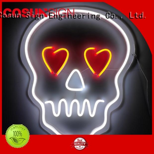 COSUN Best neon light open sign Supply for decoration