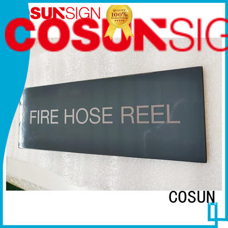 custom made house signs acrylic for wholesale COSUN
