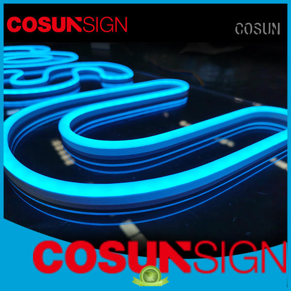 COSUN Wholesale stores that sell neon signs manufacturers for decoration