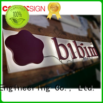 COSUN Latest sign stands for sale Supply for restaurant