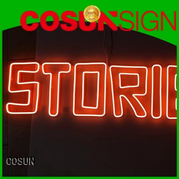 COSUN High-quality sign supply factory for hotel
