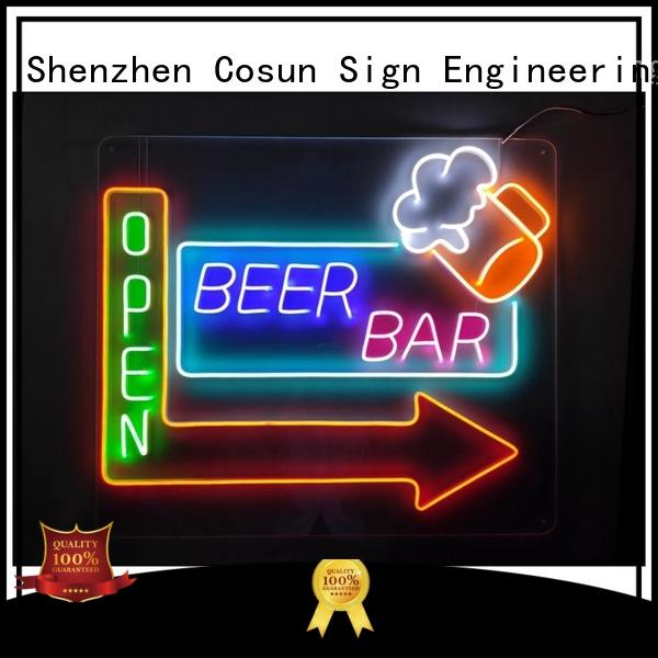 COSUN popular magnetic signs for business for warning