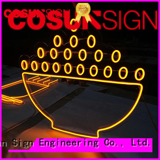 Wholesale neon letters on-sale company for promoting