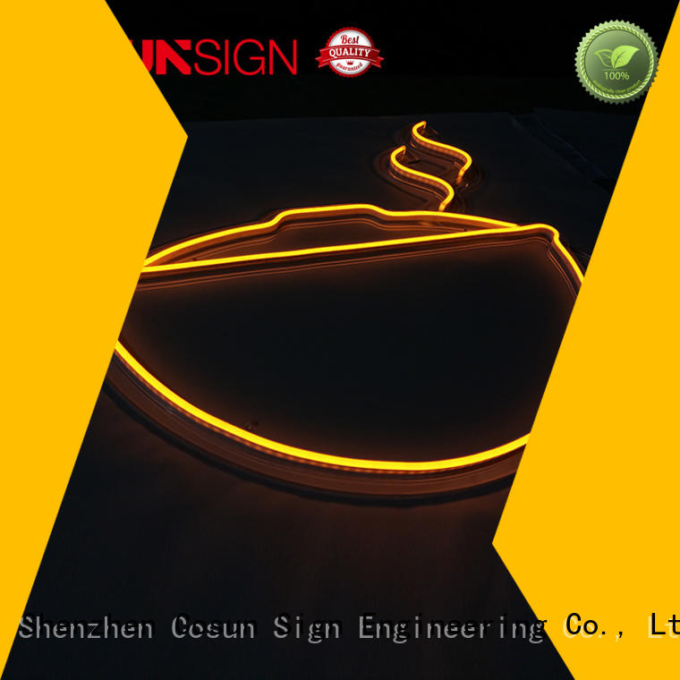 COSUN hot-sale neon tube light factory for decoration